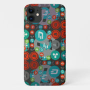 Сrypto currencies funny pattern iPhone 11 case