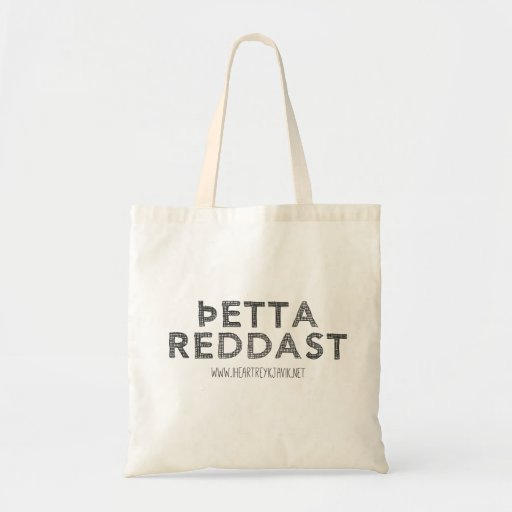 Þetta Reddast Tote Bag