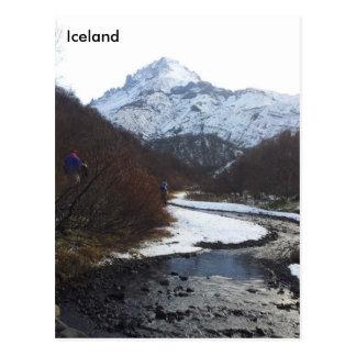 Þórsmörk, Islandia Postales