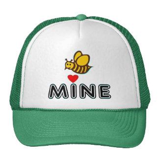 °•Ƹ̵̡Ӝ̵̨̄Ʒ♥Bee Mine Fabulous Trucker Ha♥Ƹ̵̡Ӝ̵̨̄Ʒ•° Trucker Hat