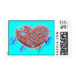 Ƹ̵̡Ӝ̵̨̄Ʒ♥Hﻉǻ®t(LOVE) Romantic Stamps♥Ƹ̵̡Ӝ̵̨̄Ʒ Postage