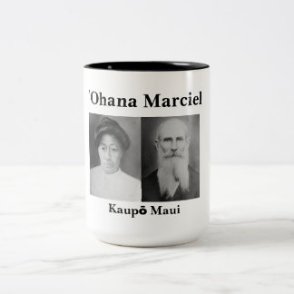 ʻOhana Marciel Black 15 oz Two-Tone Mug