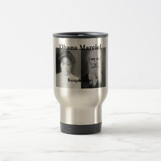 ʻOhana Marciel Stainless Steel 15 oz Travel Mug