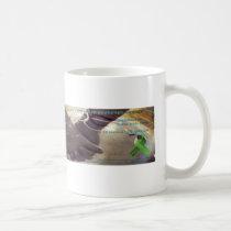 Κούπα γυαλινη ημιδιαφανή / Glass mug translucent