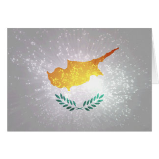 Κύπρος σημαία card