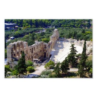 Τheater of Herod Atticus - Athens Art Photo