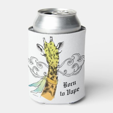 Ω VAPE | Born to Vape Giraffe by VapeGoat™ Can Cooler
