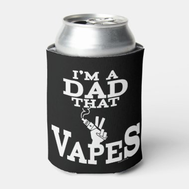 Ω VAPE | Dad That Vapes by VapeGoat™ Can Cooler
