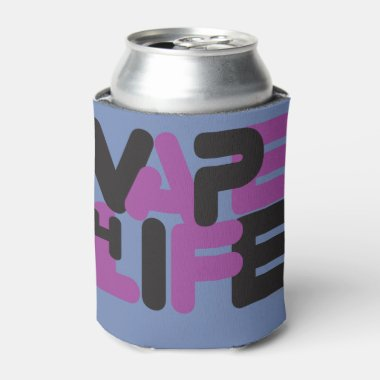 Ω VAPE | Vape 4 Life Purple by VapeGoat™ Can Cooler