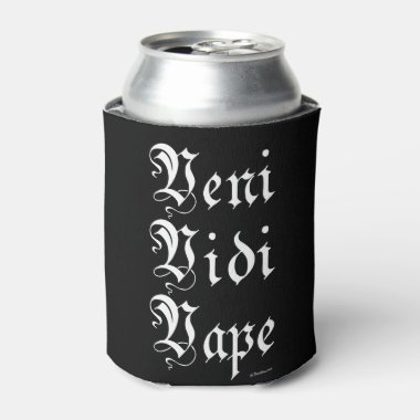 Ω VAPE | Veni Vidi Vape Black by VapeGoat™ Can Cooler