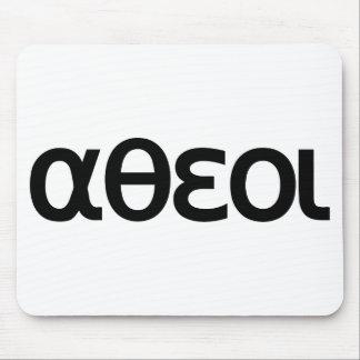 αθεοι (Atheoi) Mousepad