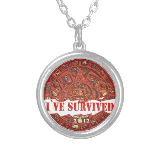 Аpocalypse 2012 End of the World Silver Plated Necklace
