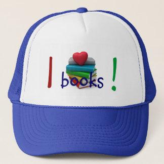 "Бейсболка ""Я люблю читать""/ Trucker Hat"