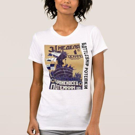 """Броненосец """"Потёмкин"""" (acorazado Potemkin) Camisetas"""