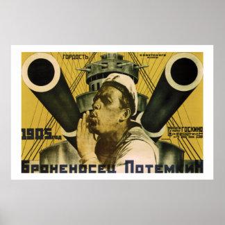 Броненосец «Потёмкин» I (Battleship Potemkin) Poster