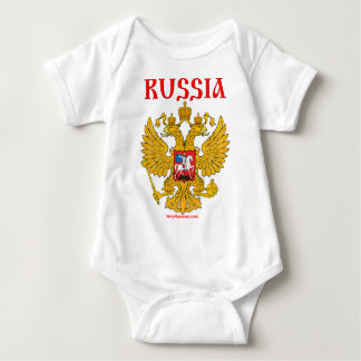 Герб России RUSSIA Coat of Arms Baby Bodysuit