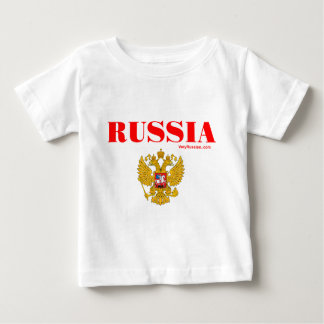 Герб России RUSSIA Coat of Arms Baby T-Shirt