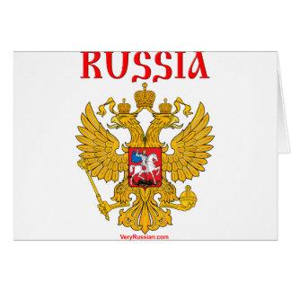 Герб России RUSSIA Coat of Arms Greeting Card