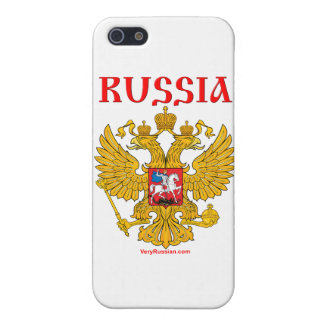 Герб России RUSSIA Coat of Arms Cover For iPhone SE/5/5s