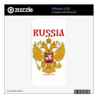 Герб России RUSSIA Coat of Arms iPhone 4S Skin