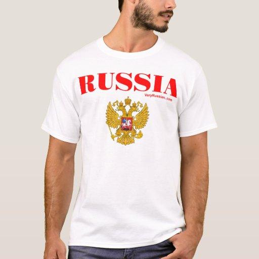 Герб России RUSSIA Coat of Arms T-Shirt
