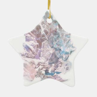 Делатели снега. Вариант 1. Ceramic Ornament