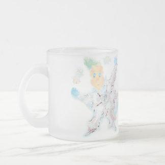 Делатели снега. Вариант 1 Frosted Glass Coffee Mug