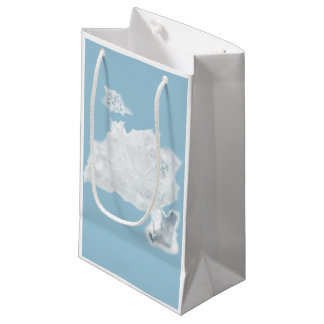 Делатели снега. Вариант 1 Small Gift Bag