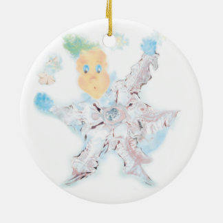 Делатели снега. Вариант 2. Ceramic Ornament