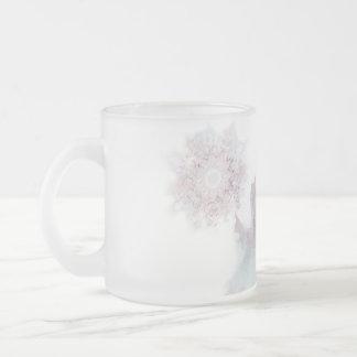Делатели снега. Вариант 2. Frosted Glass Coffee Mug