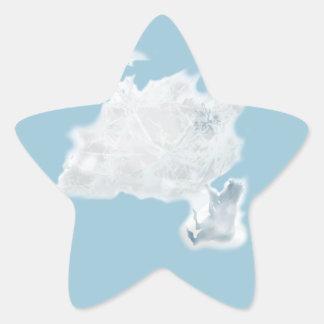 Делатель снега. Вариант 2. Star Sticker