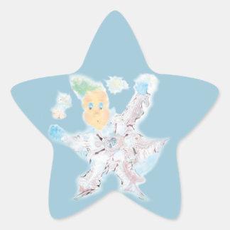Делатель снега. Вариант 3 Star Sticker