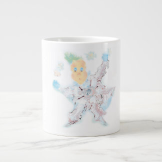 Делатель снега. Вариант 4 Large Coffee Mug