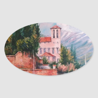 Мечта Oval Sticker