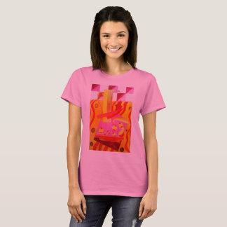 Натюрморт с вазой в розовых тонах T-Shirt
