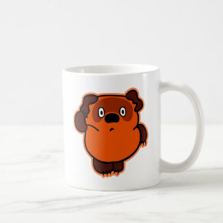 Русский мишка classic white coffee mug
