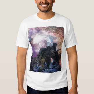 Рsусhеdеlіс Design Style SoldierAbstract Shirt