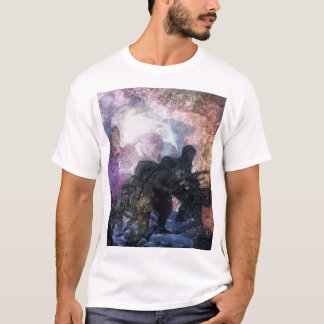 Рsусhеdеlіс Design Style SoldierAbstract T-Shirt