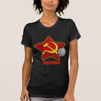 Спутник Sputnik poster art Shirt