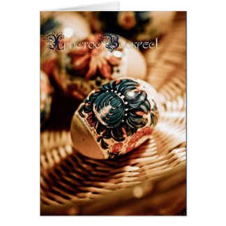 ¡ХристосВоскрес Pascua feliz Tarjeton