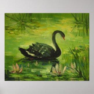 Черный лебедь poster