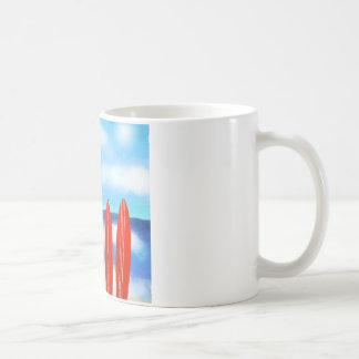 пляж coffee mug