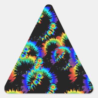 радужные кольца б б у triangle sticker