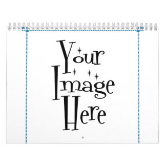 ѺѲѻѳо●•◦ CREATE YOUR OWN - PERSONALIZE BLANK Wall Calendar