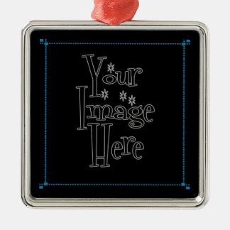 ѺѲѻѳо●•◦ CREATE YOUR OWN - PERSONALIZE BLANK Metal Ornament