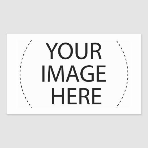 ѺѲѻѳо●•◦ CREATE YOUR OWN - PERSONALIZE BLANK Rectangular Sticker