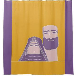 տատիկ armenio - cortina de ducha del պապիկ cortina de baño