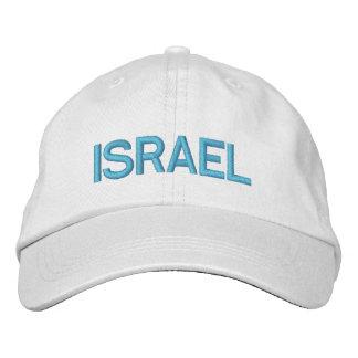 כובעמתכוונןישראל ajustable del gorra de Israel Gorra Bordada