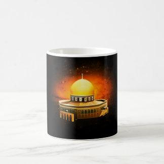 المسجدالاقصى de la taza de la mezquita del al-Aqsa