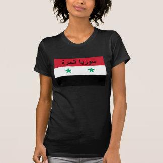 سورياالحرة libre de la bandera de Siria - Siria Camiseta